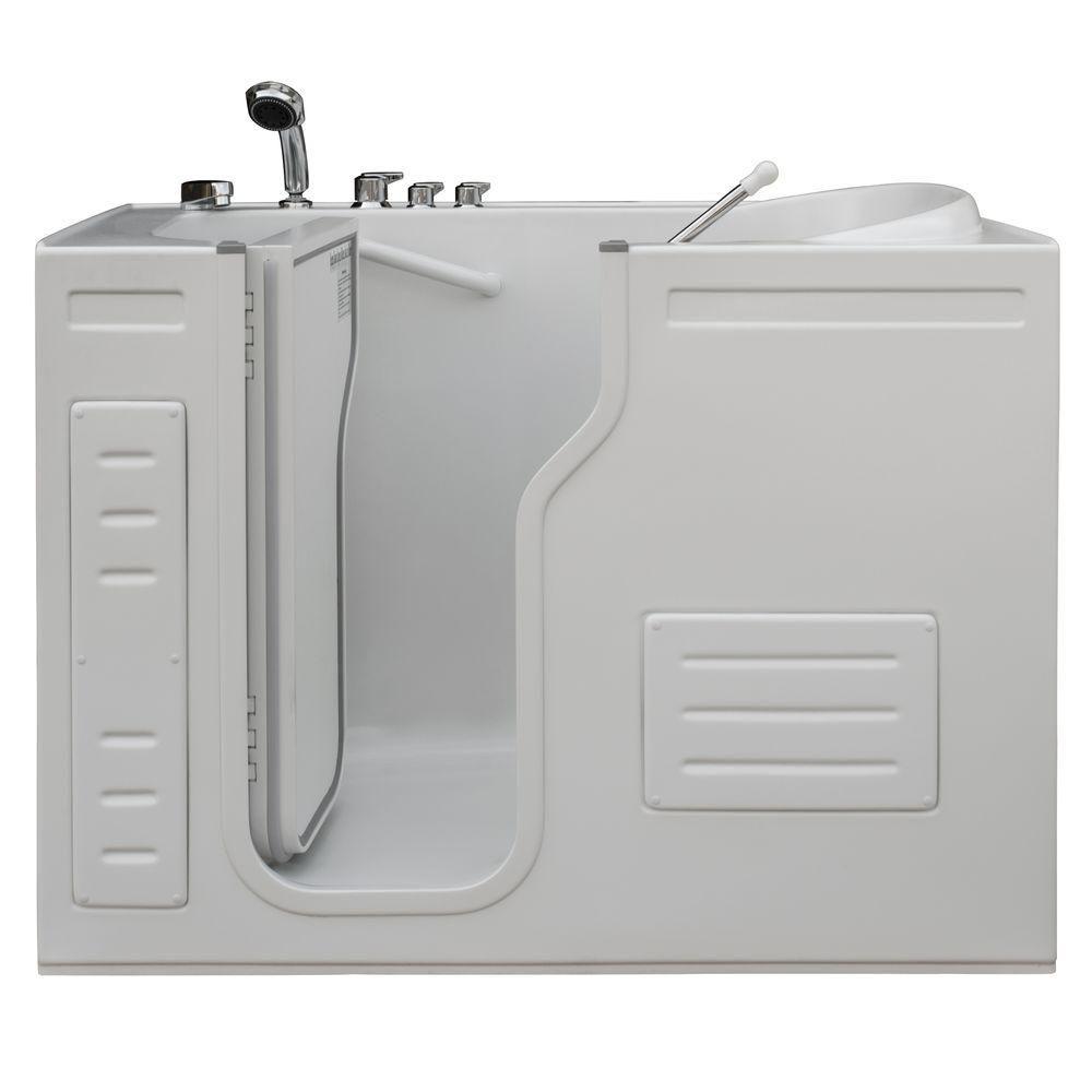 Homeward Bath Lavish Walk-In Non Whirlpool Bathtub with Thermostatic Controls