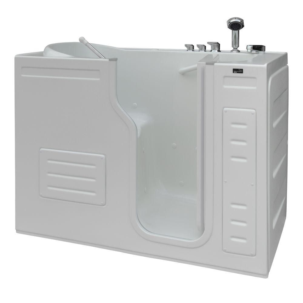 L'accès facile, le bain avec le jet d'air chauffé, des contrôles thermostat, et une ouverture de ...