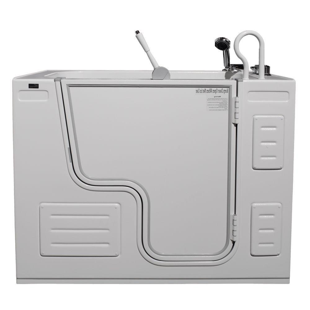 Lavish Non Whirlpool Transfer Bathtub with Thermostatic Controls