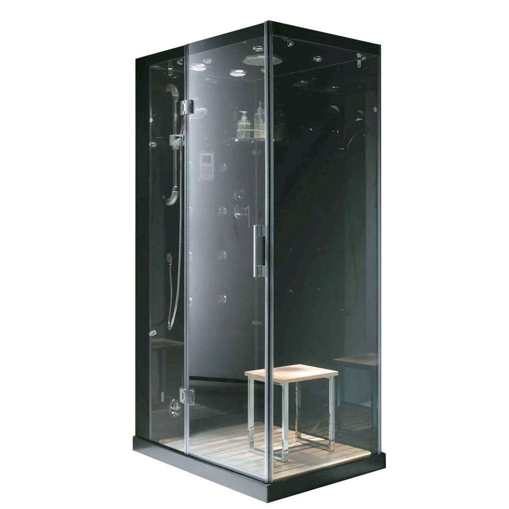 Modern, Stylish Steam & Shower Enclosure With Multi Body Massage Water Jets, Radio & Aromatherapy MA6020-L Canada Discount