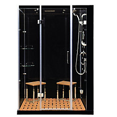 59-inch x 32-inch x 86-inch Orion Right-Hand Steam & Shower Enclosure with Aromatherapy