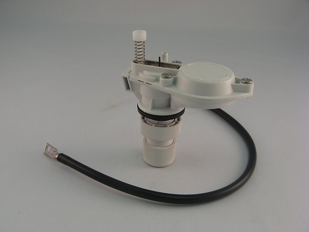 Replacement Toilet Tank Fill Valve, Fits Low Boy Toilets, White Complete with Tube