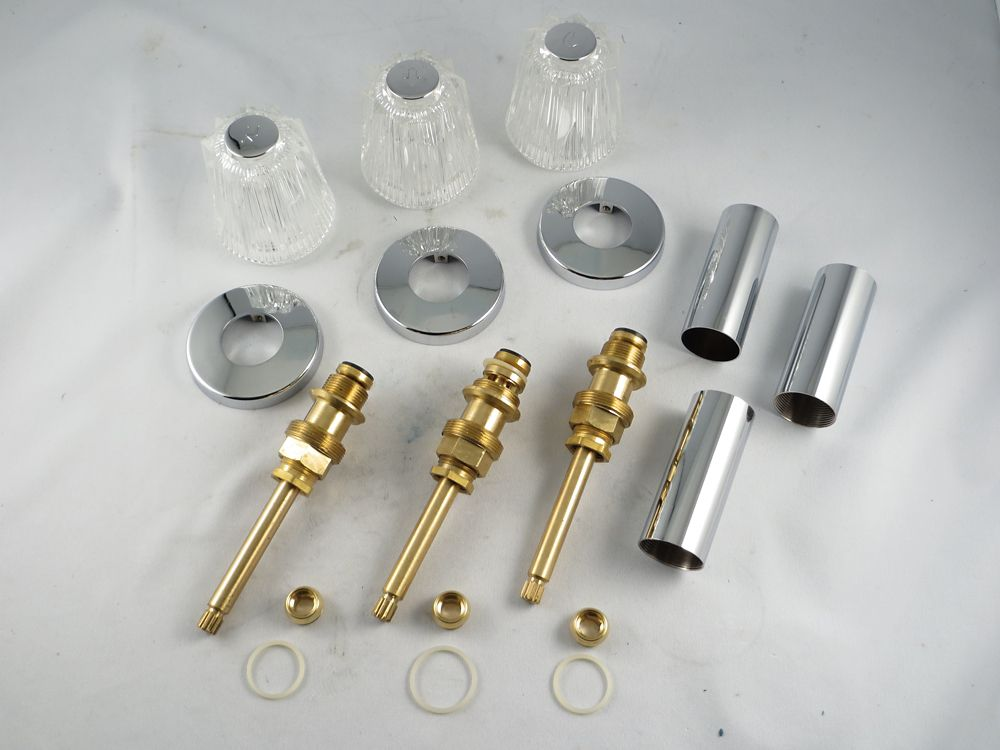 Replacement Rebuild Kit for Price Pfister WINDSOR Two Handle Tub and Shower Faucet