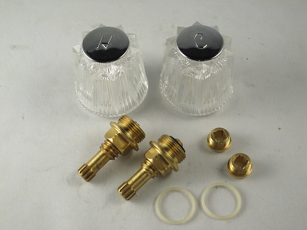 Replacement Rebuild Kit for Price Pfister Windsor Lavatory or Kitchen Two Handle Faucet
