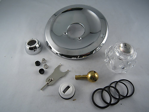 for chrome s one ebay shower faucets chateau escutcheon item moen single tub p replacement handle handles