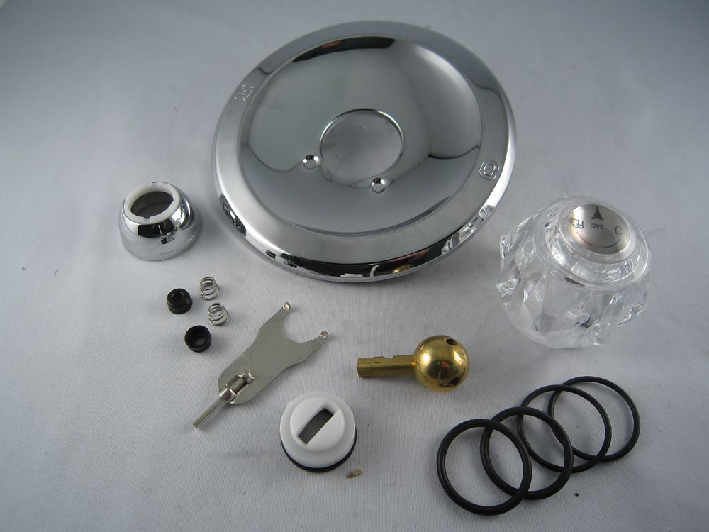 Jag Plumbing Products Replacement Rebuild Kit for Delta / Peerless Single Handle Tub and Shower Faucet