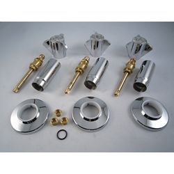 Jag Plumbing Products Replacement Rebuild Kit for Sayco Three Handle Tub and Shower Faucet