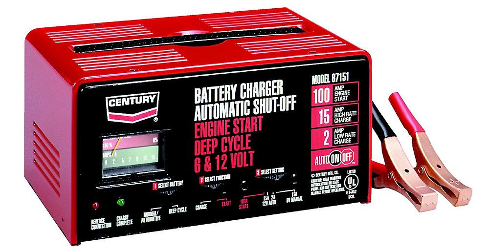 Chargeur Century 15/2/100 auto (87151C)