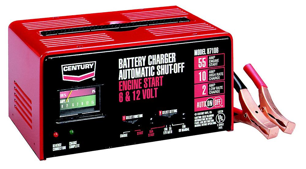 Century Charger 10/2/55 Auto ( 87106C )