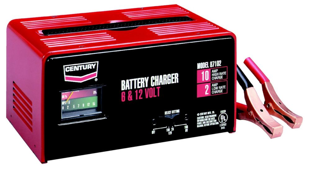 Century Charger 10/2 Manual ( 87102C ) 141-291-904 Canada Discount