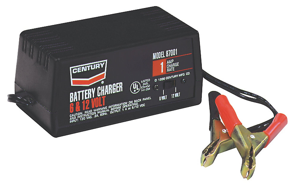 Chargeur Century 1 A, 6/12 V (87001)