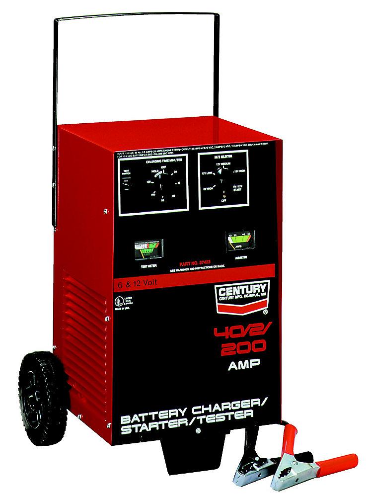 Chargeur/Testeur Century 40/2/200A (87423)