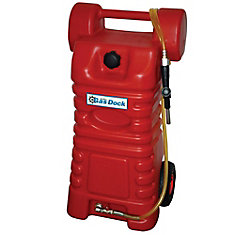 Gas Dock 26-Gal. Professional Portable Gas Caddy Fuel Handling and Storage