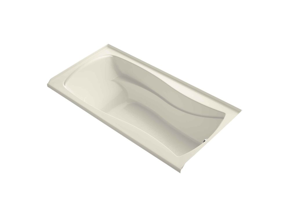 KOHLER Mariposa 6 Feet Bathtub with Integral Apron, Tile Flange and Right-Hand Drain