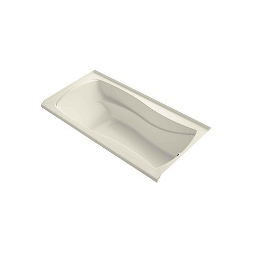 "KOHLER Mariposa(R) 72"" x 36"" alcove bath with integral apron, integral flange and right-hand drain"