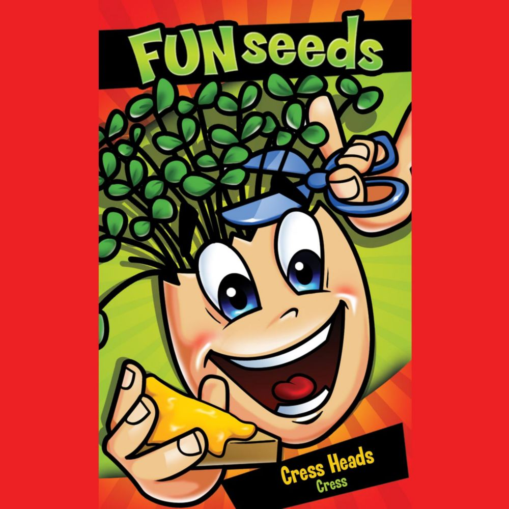 Fun Seeds Egg Head                                       (Cress)