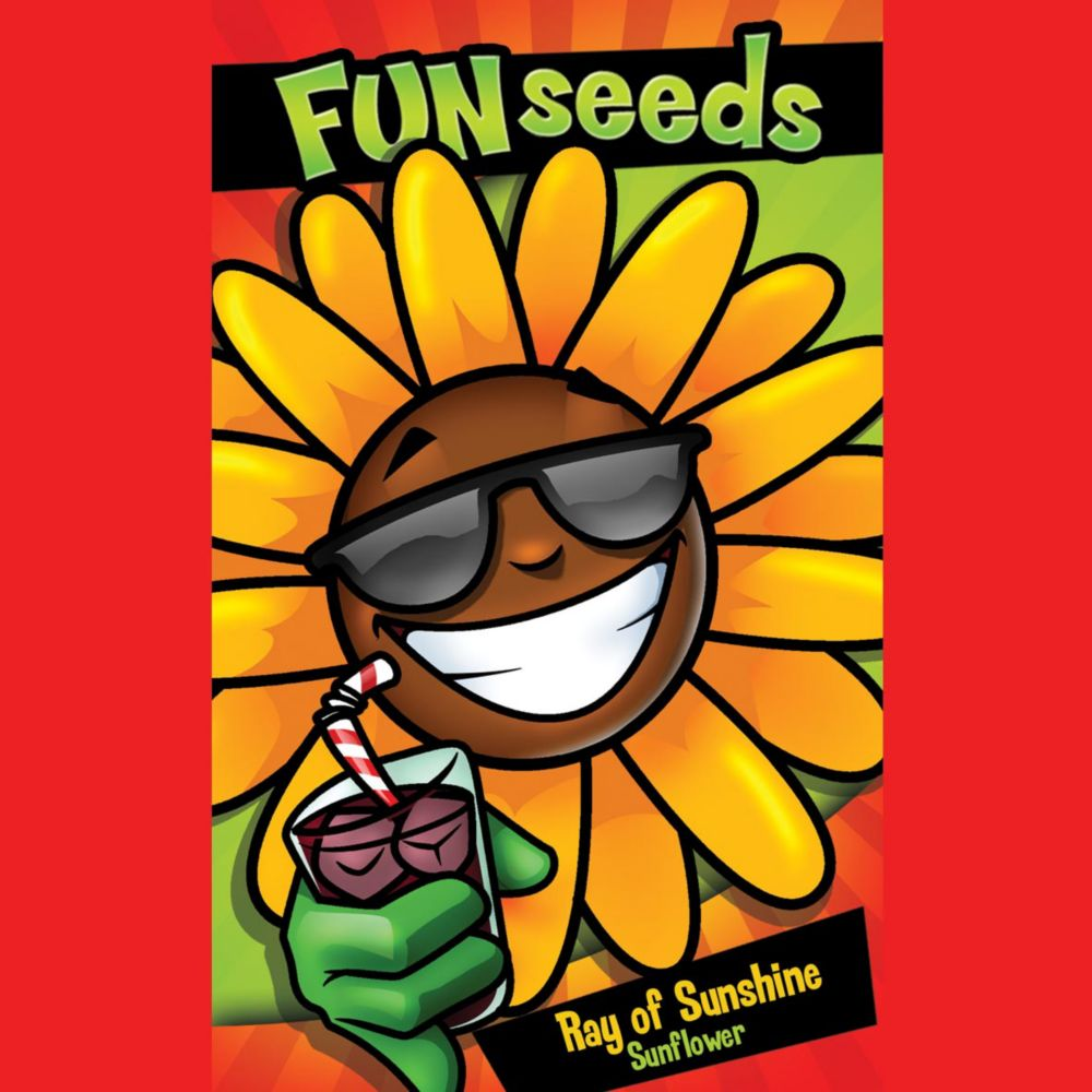 Fun Seeds Ray of Sunshine              (Giant Single Sunflower)
