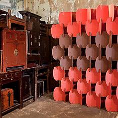 Nomad System Room Dividers Red Pantone 179U