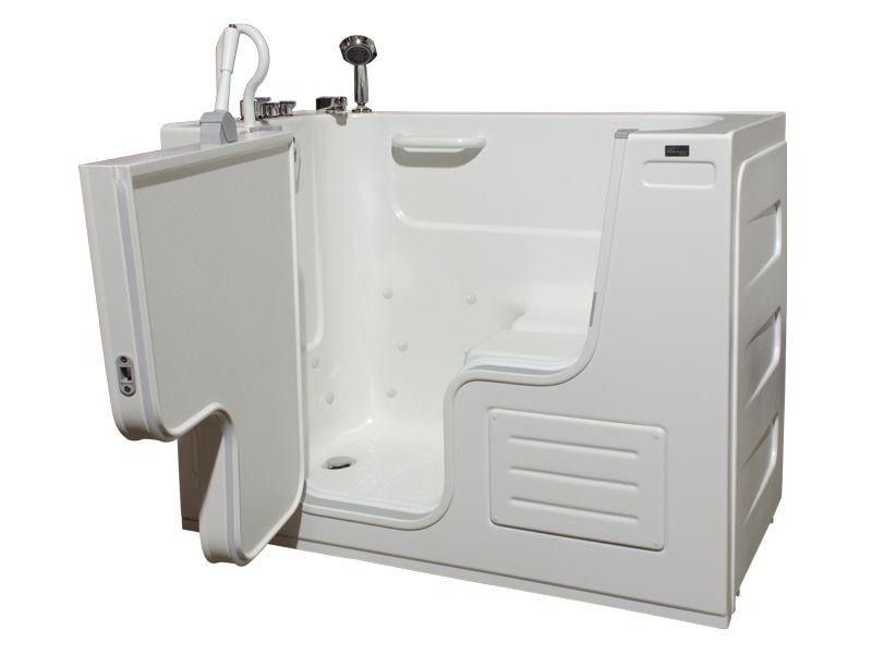 Lavish Whirlpool Transfer Bathtub with Thermostatic Controls
