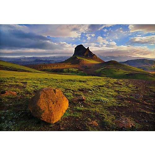 6 Feet x 4 Feet 2 Inches Iceland Wall Mural