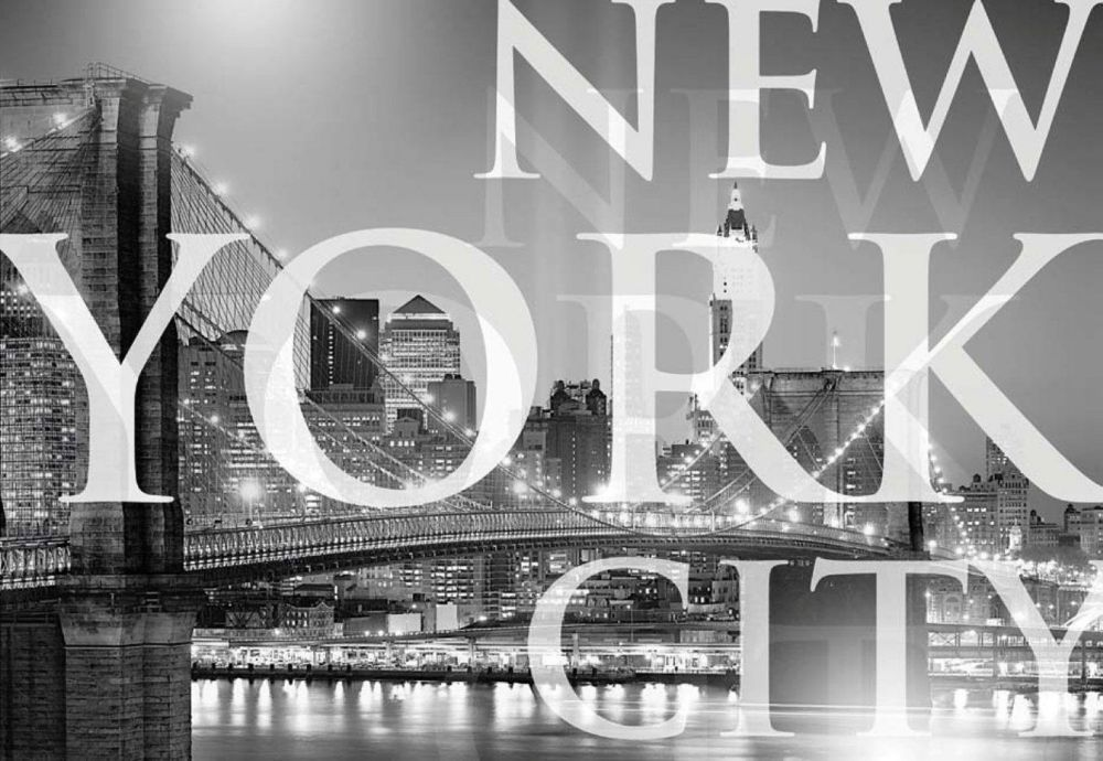 Murale La ville de New York 6 pi. x 4 pi. 2 po.
