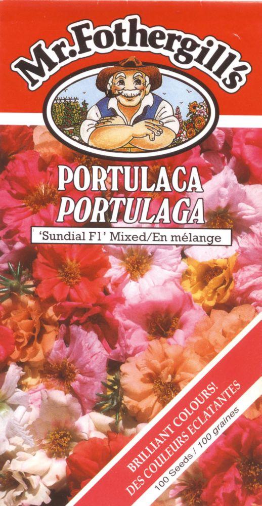 Portulaca Sundial Mixed F1