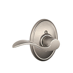 Satin Nickel Wakefield / Accent Left Hand Dummy Lever