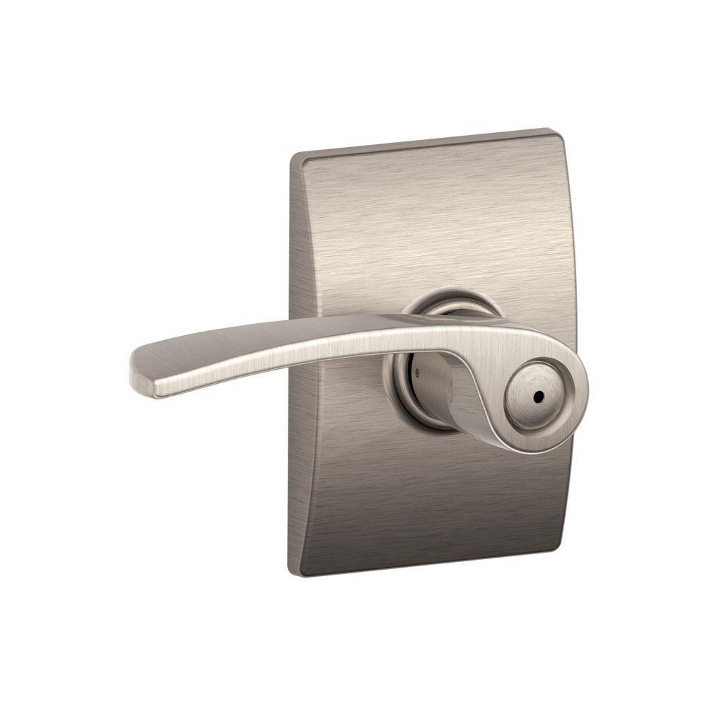 Century / Merano Satin Nickel Privacy Lever