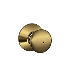 Plymouth Antique Brass Privacy Knob