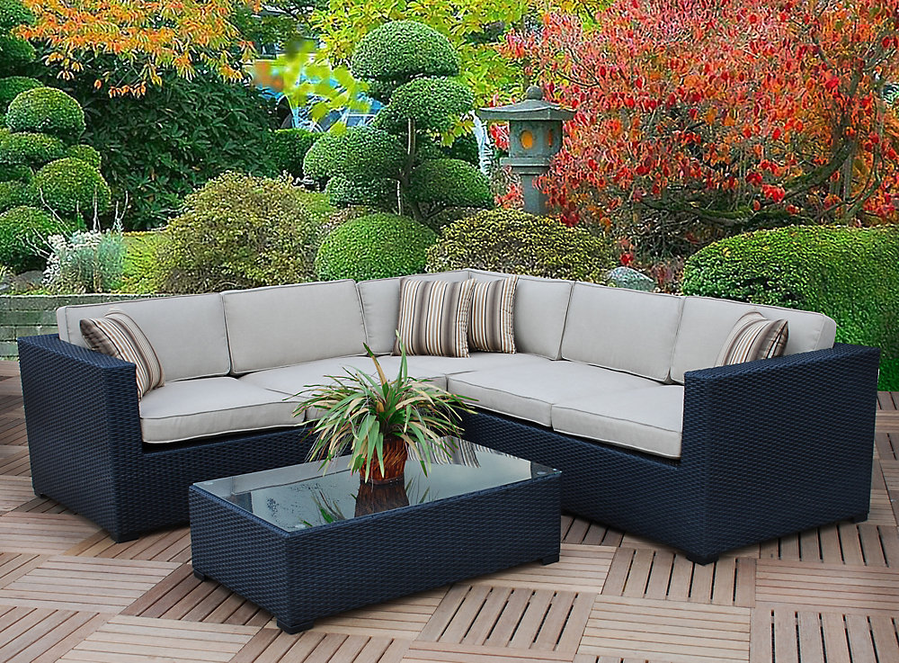 Bali Sectional Sofa 3-Piece Set