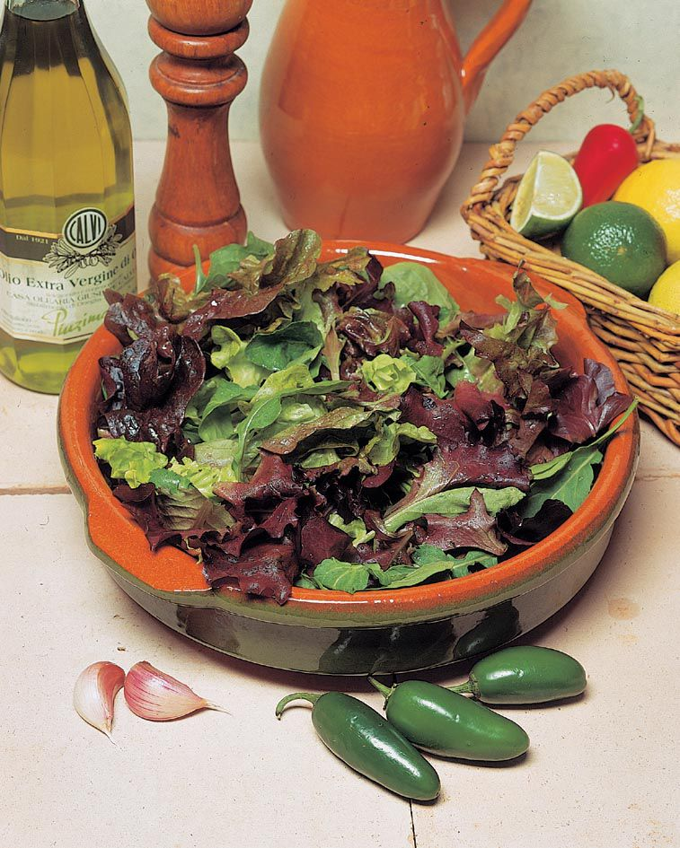 Lettuce Mixed Leaf Salad