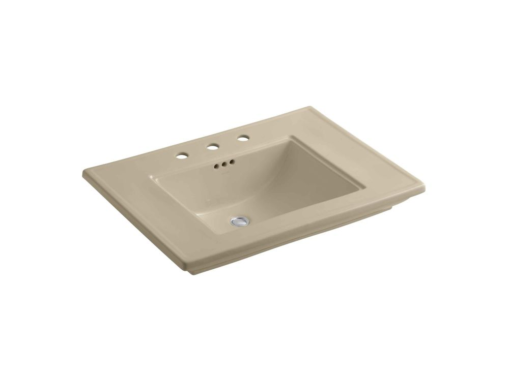 KOHLER Memoirs Bathroom Sink with Stately Design and 8-inch Centres
