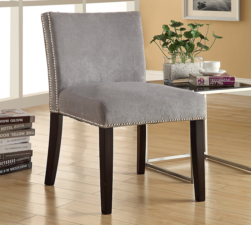 Nadia Accent Chair - Grey