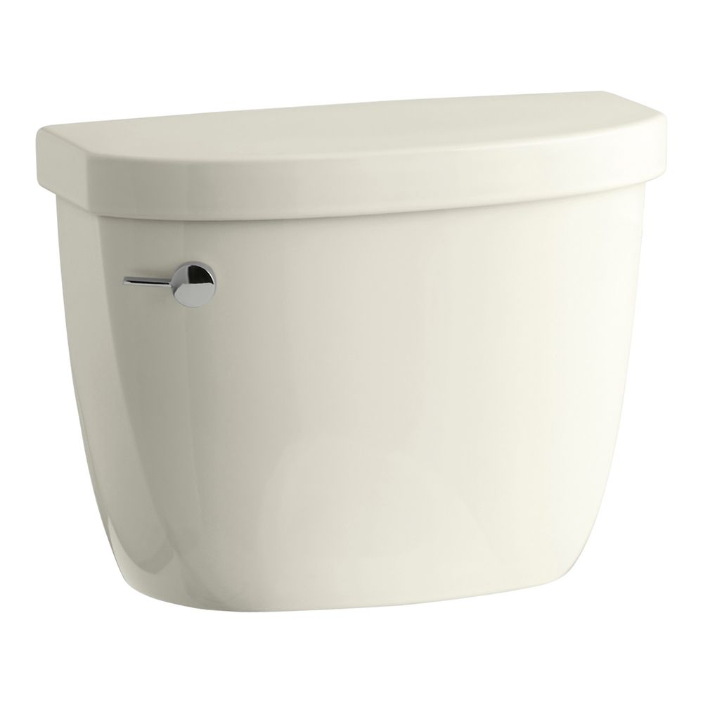 KOHLER Cimarron 1.28 GPF Single Flush Toilet Tank Only with AquaPiston Flushing Technology in Biscuit