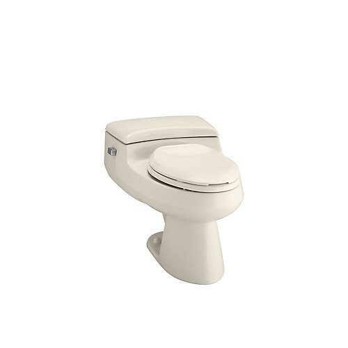 San Raphael 1-piece 1.0 GPF Single Flush Elongated Bowl Toilet