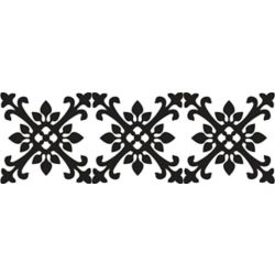 WallPops 16 Feet x 6.5 Inches Tangier Stripe Wall Applique (2-pack)