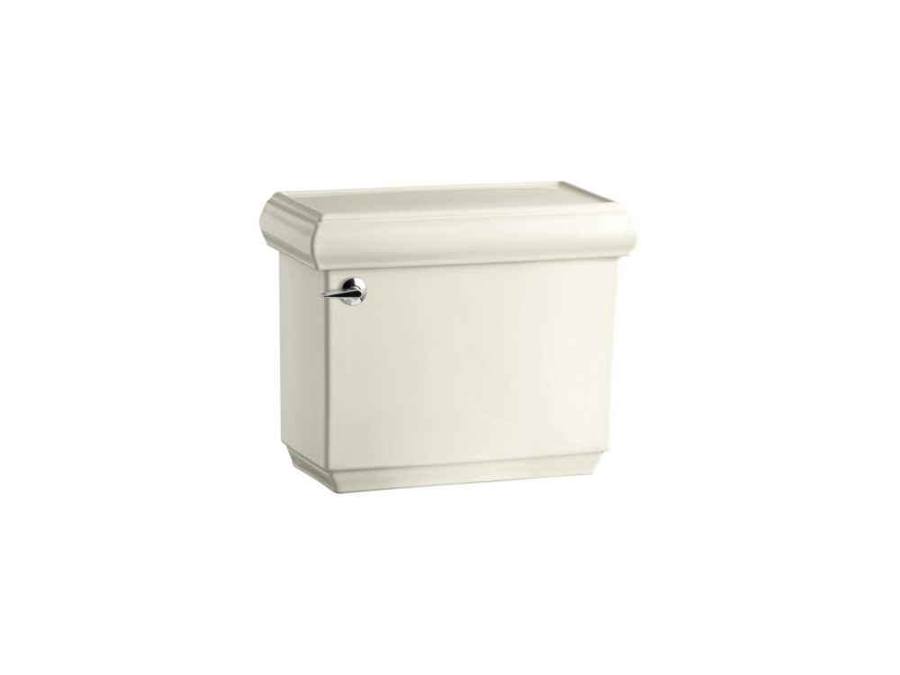 KOHLER Memoirs 1.28 GPF 66-inch L x 32-inch W x 18-inch H Single Flush Toilet Tank Only in Biscuit
