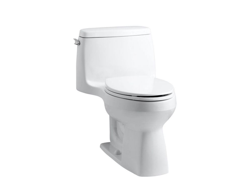Santa Rosa(TM) Comfort Height(R) Compact One Piece 1.28 Gal. Elongated Toilet