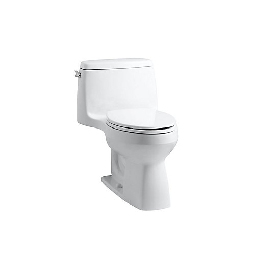 Santa Rosa 4.8 LPF 1-Piece Single-Flush Elongated Bowl Toilet