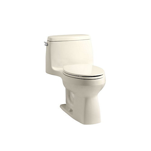 Santa Rosa 1-piece 1.28 GPF Single Flush Elongated Bowl Toilet