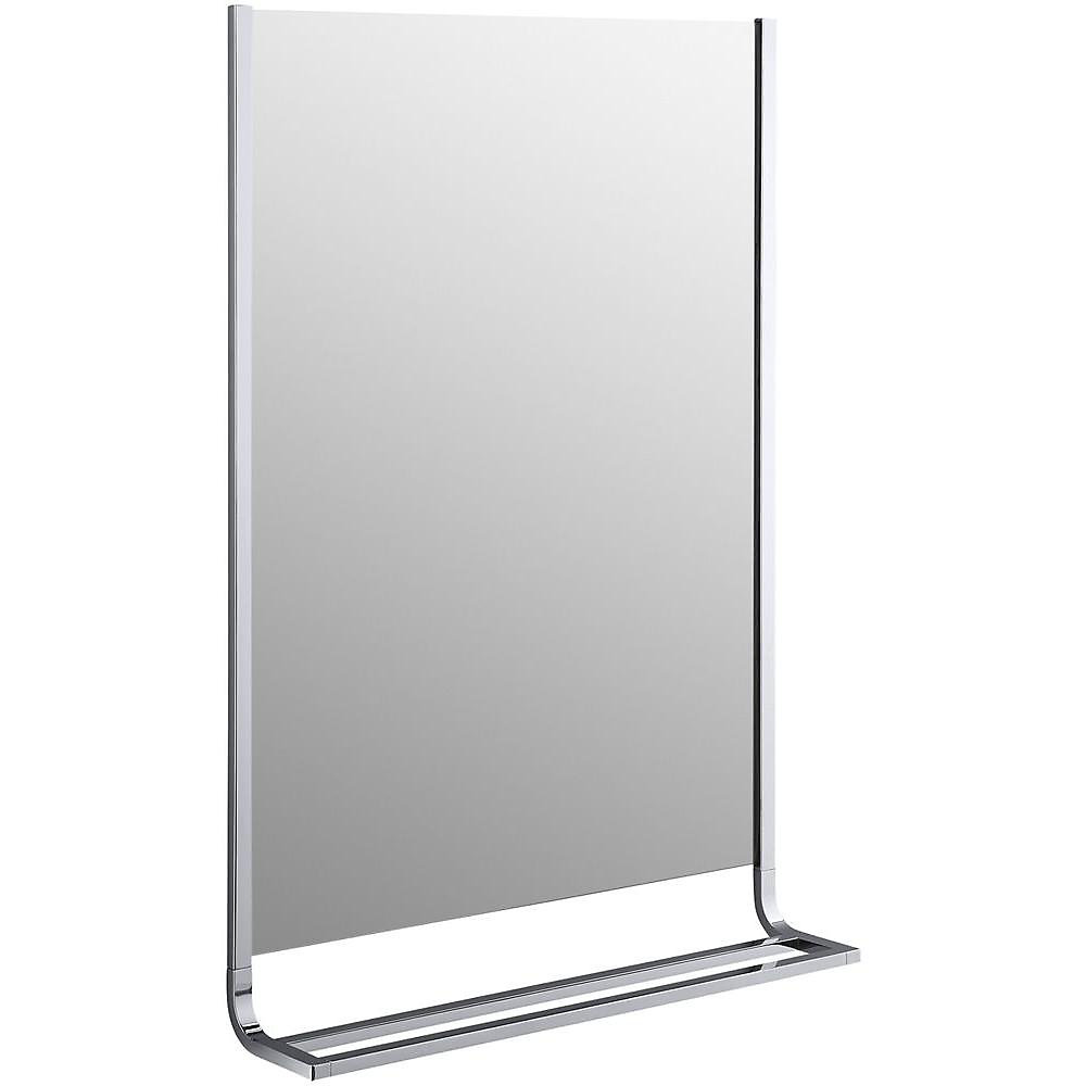 Loure(R) 24 Inch Mirror And Double Towel Bar