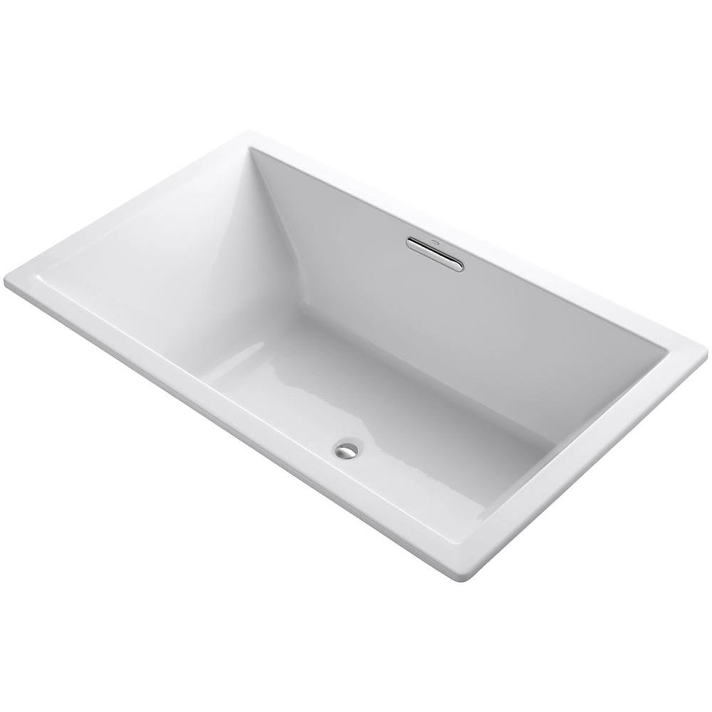 "Underscore(R) Rectangle 72"" x 42"" drop-in bath with center drain"