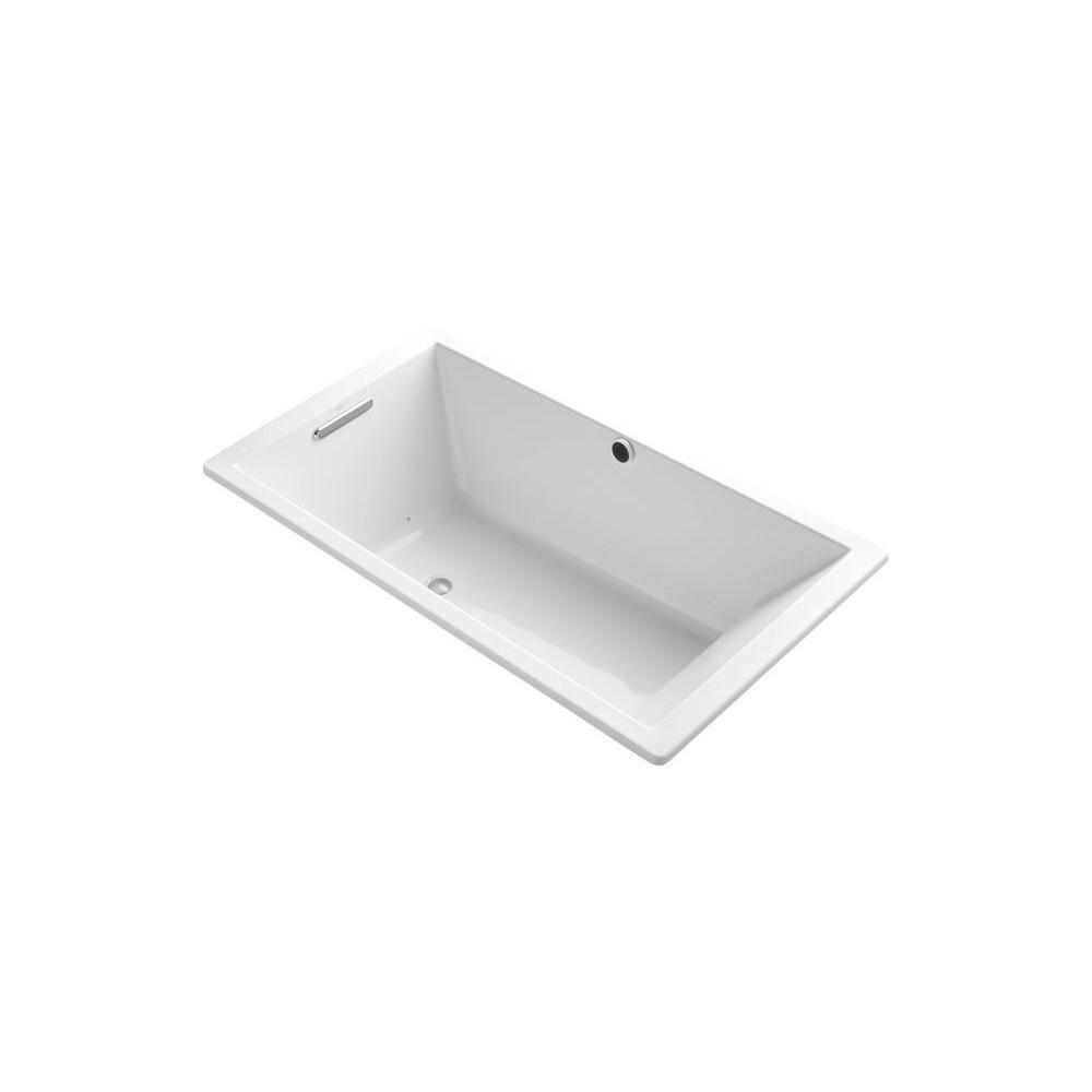 KOHLER Underscore 5 Feet 6-Inch Acrylic Whirlpool Bathtub