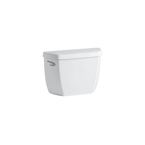 Wellworth Classic 4.8 LPF Single Flush Toilet Tank Only with Class Five Flushing Technology in White