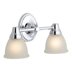 KOHLER Transitional Double Wall Sconce For Faucet Line