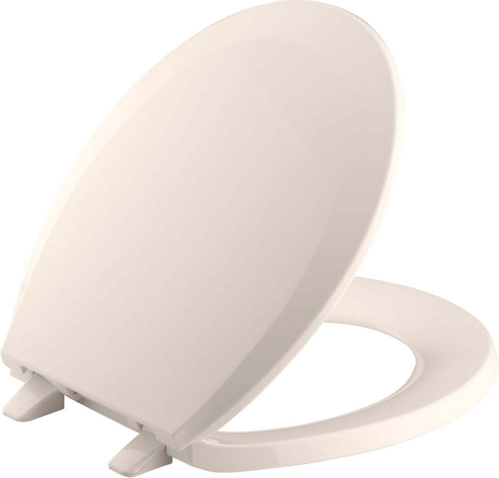 Lustra Round Toilet Seat with Q2 Advantage