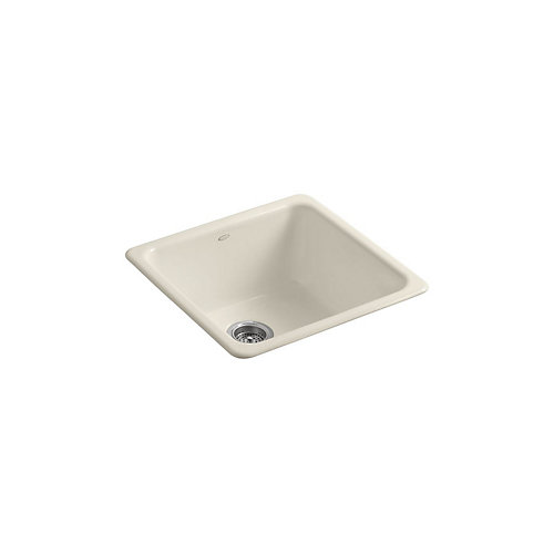 Iron/Tones(R) Self-Rimming (20-7/8 Inch X 20-7/8 Inch) Or Undercounter (17-7/8 Inch X 17-7/8 Inch) Kitchen Sink