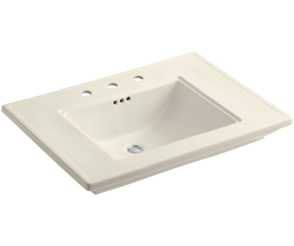 Glacier bay regent oval drop in bathroom sink the home - Glacier bay drop in bathroom sink ...