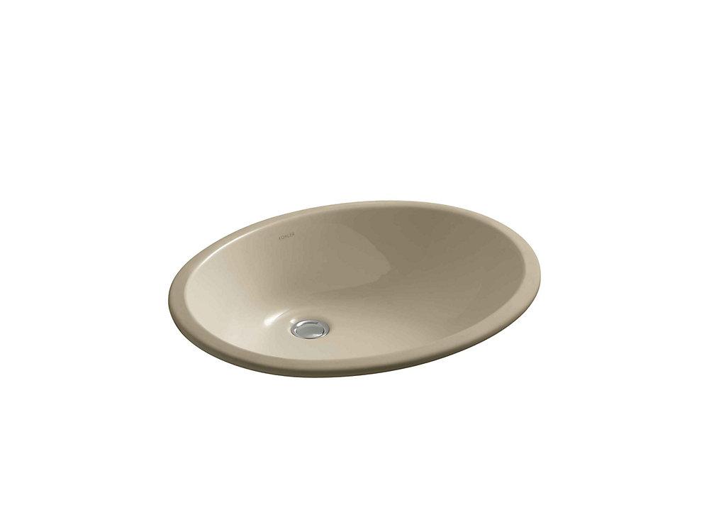 Caxton 19-inch L x 15-inch H Undercounter Bathroom Sink