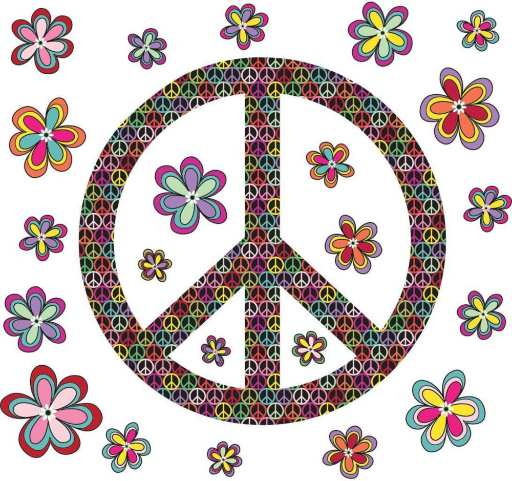 Peace Wall Applique